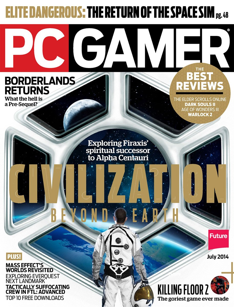 PC Gamer Issue 254 July 2014