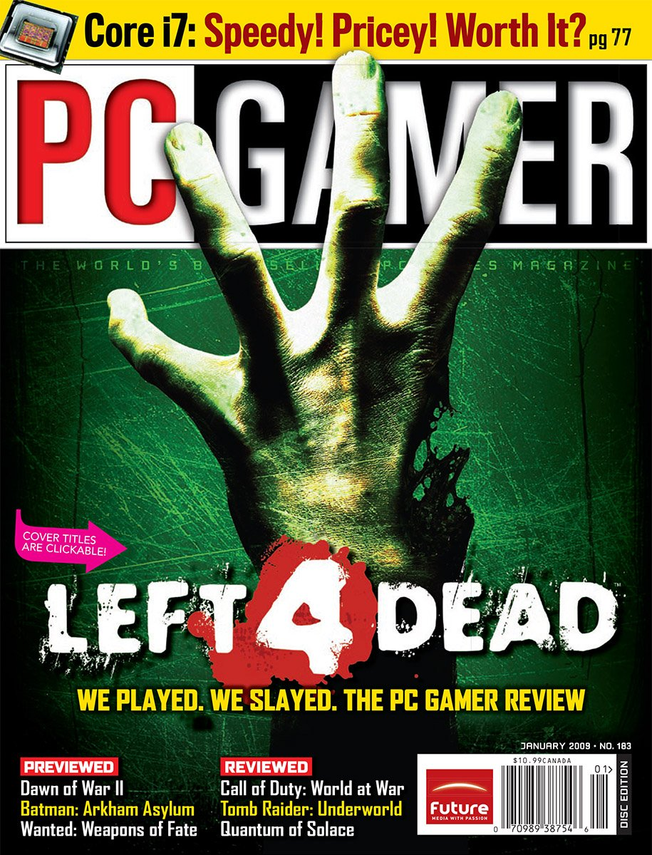 PC Gamer Issue 183 January 2009
