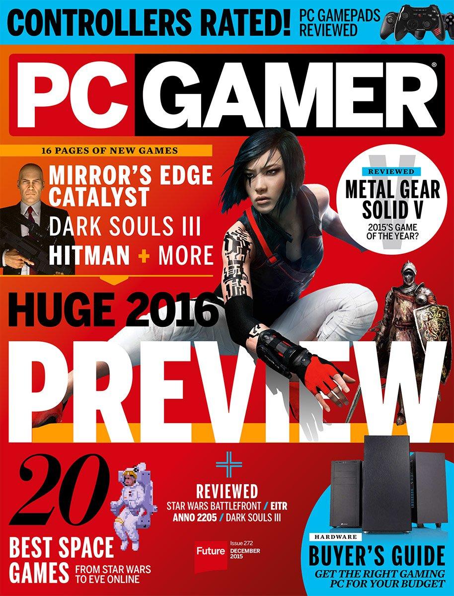 PC Gamer Issue 272 December 2015