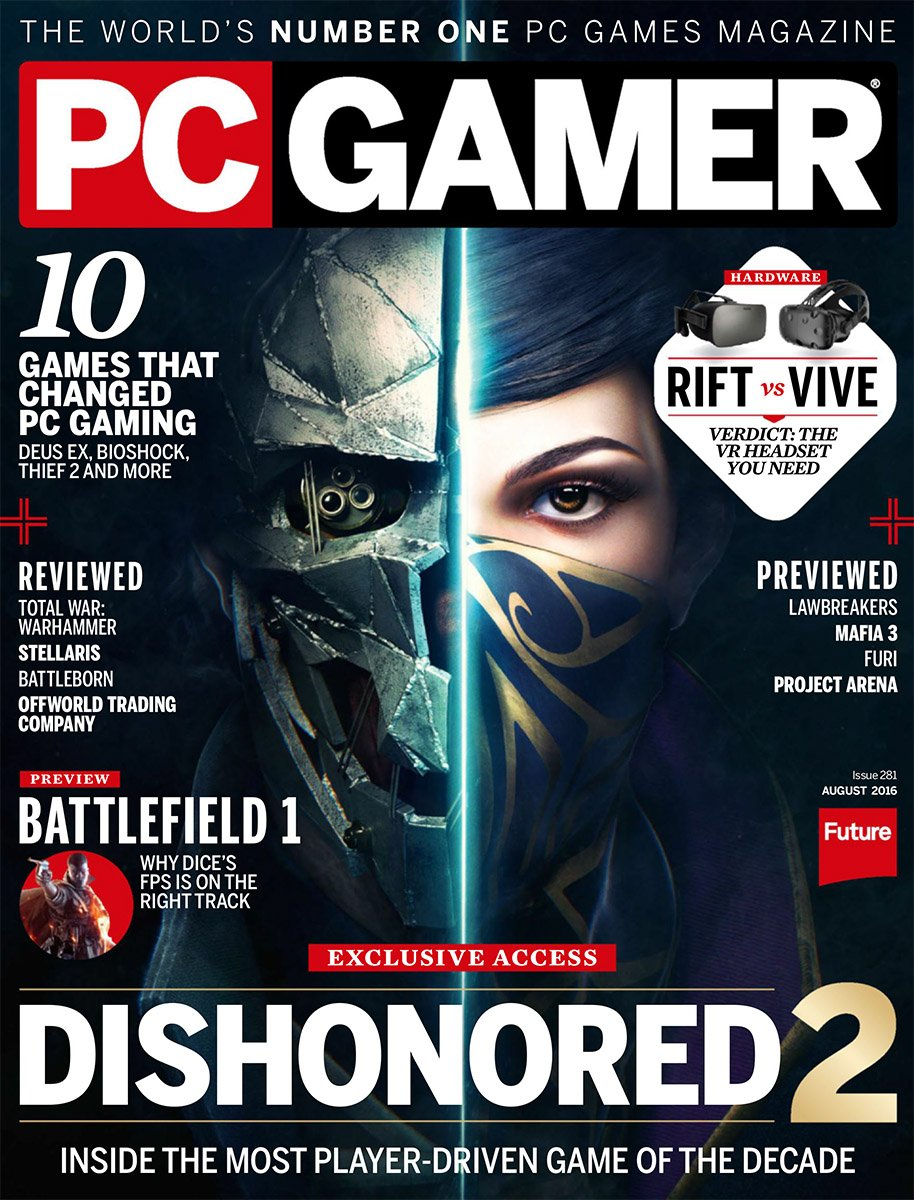 PC Gamer Issue 281 August 2016