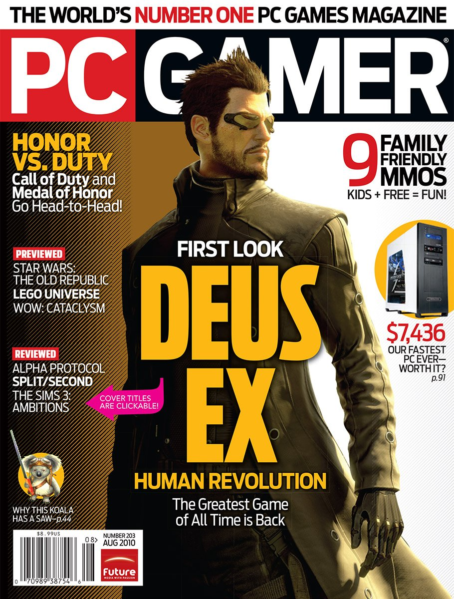 PC Gamer Issue 203 August 2010