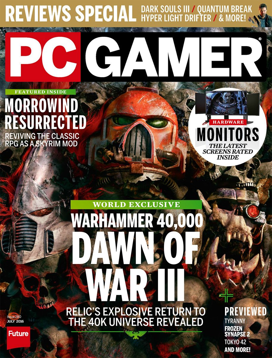 PC Gamer Issue 280 July 2016