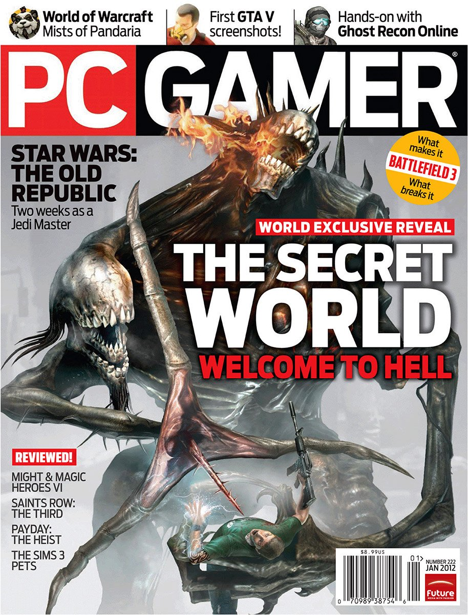 PC Gamer Issue 222 January 2012