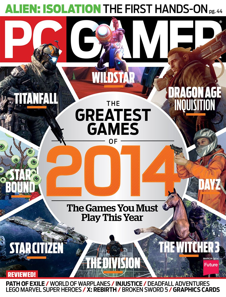 PC Gamer Issue 250 March 2014