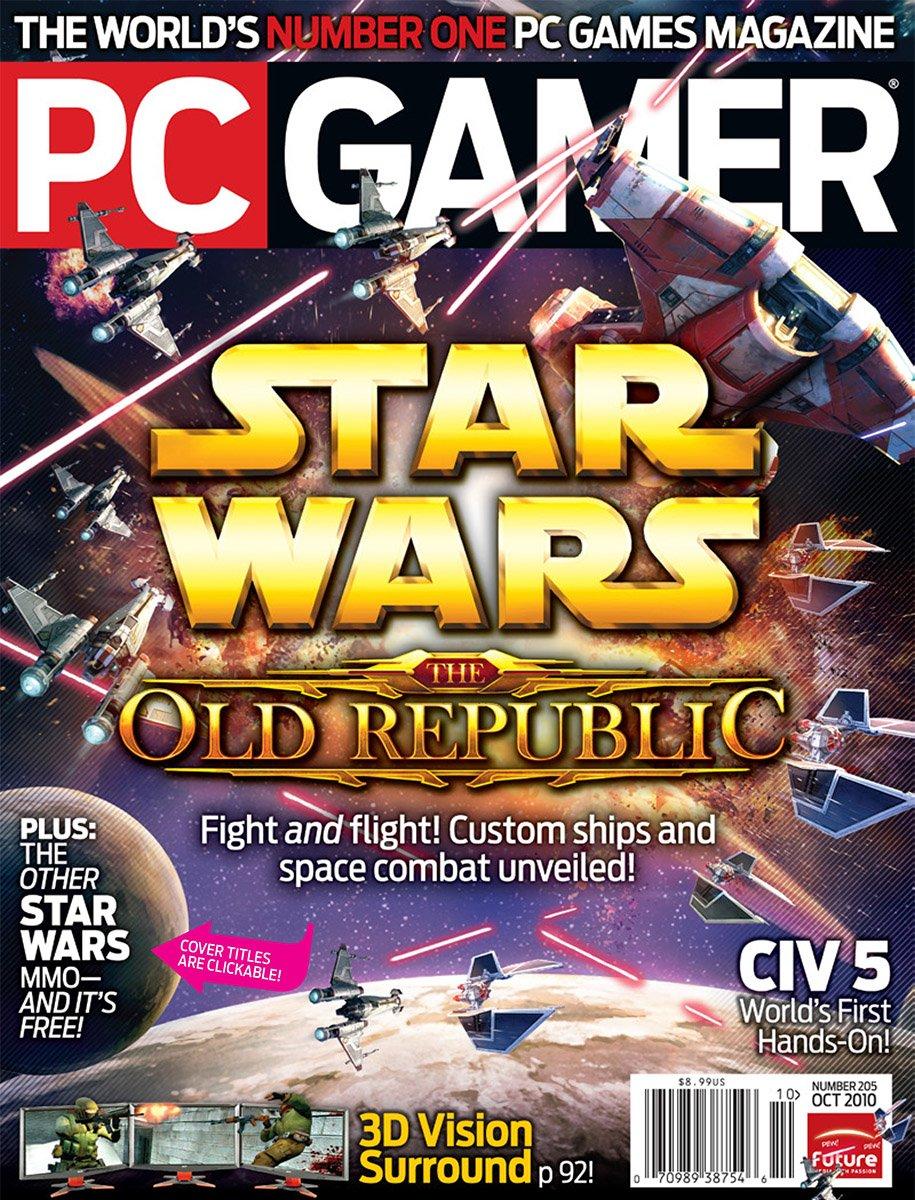 PC Gamer Issue 205 October 2010