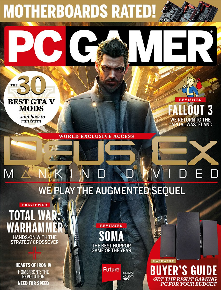PC Gamer Issue 273 Holiday 2015