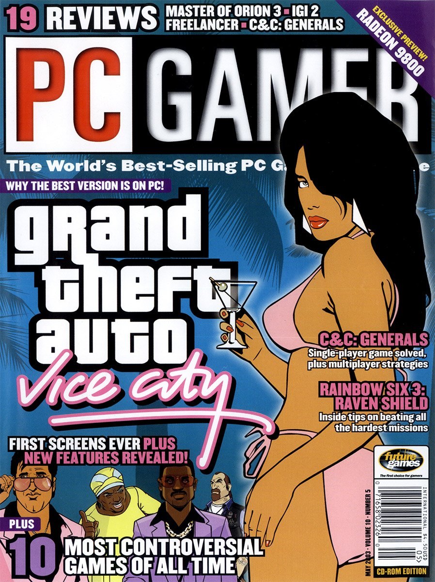 PC Gamer Issue 110 May 2003