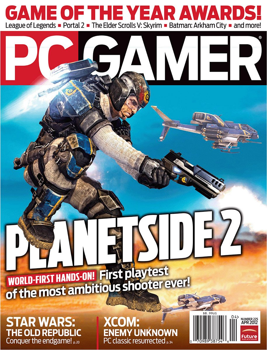 PC Gamer Issue 225 April 2012