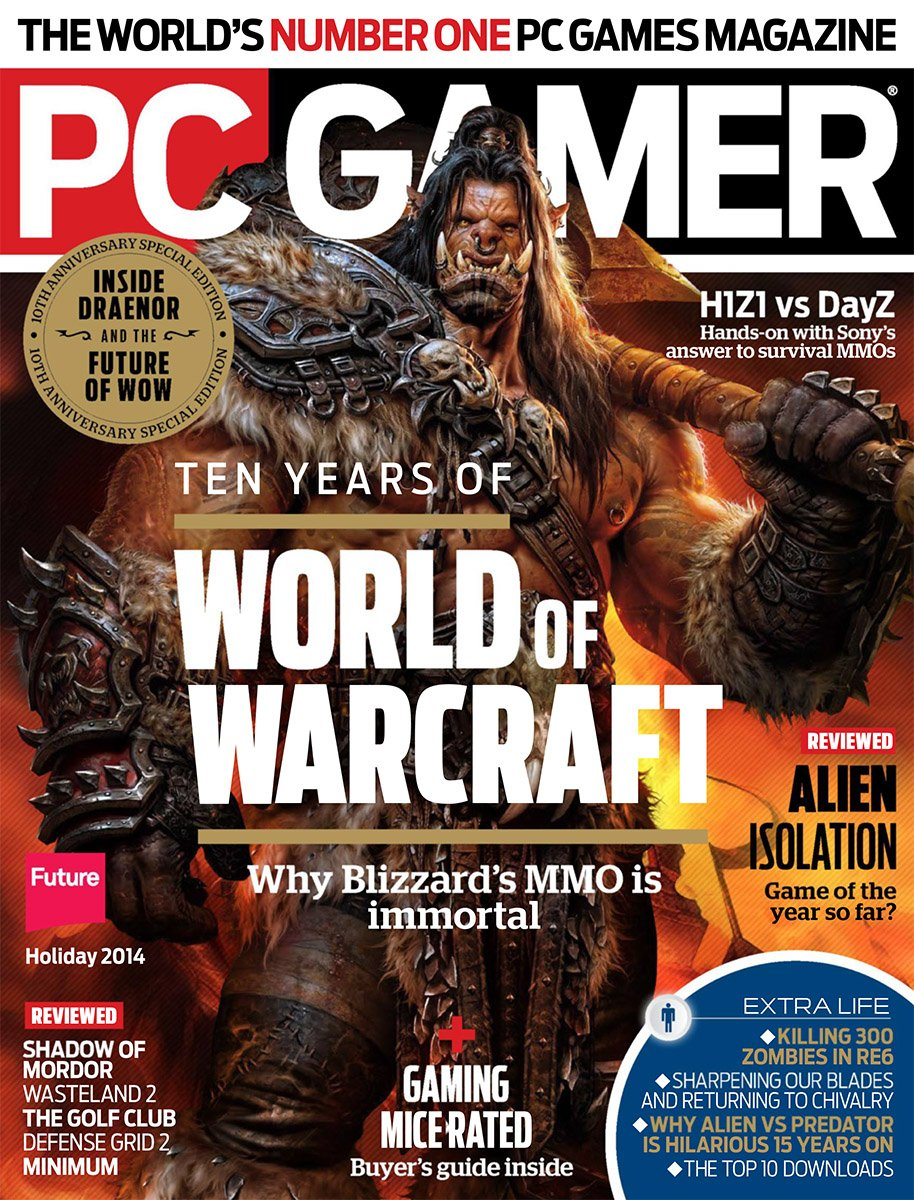 PC Gamer Issue 260 Holiday 2014