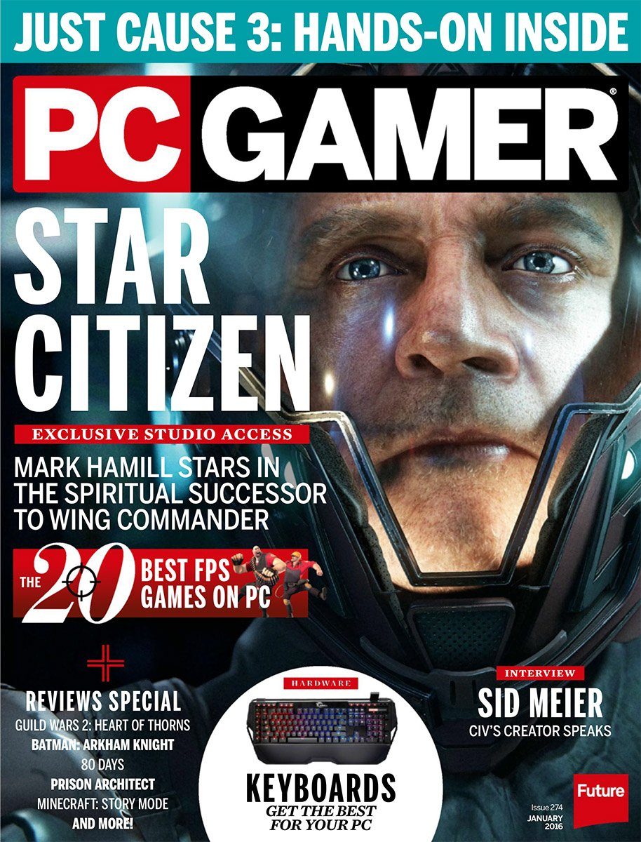 PC Gamer Issue 274 January 2016