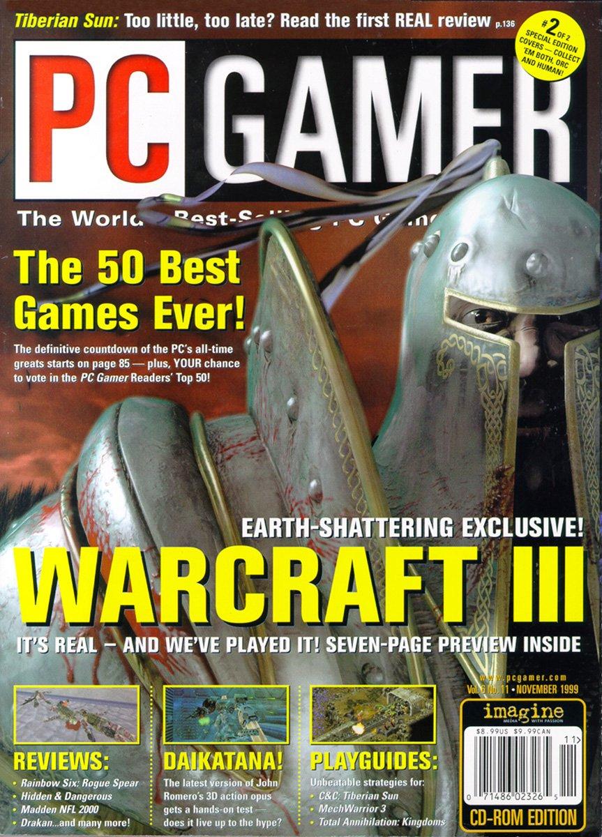 PC Gamer Issue 066 November 1999 (cover 2)