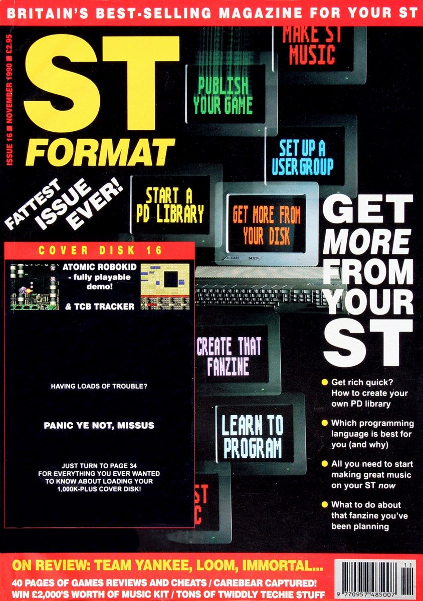 ST Format Issue 016 Nov 1990