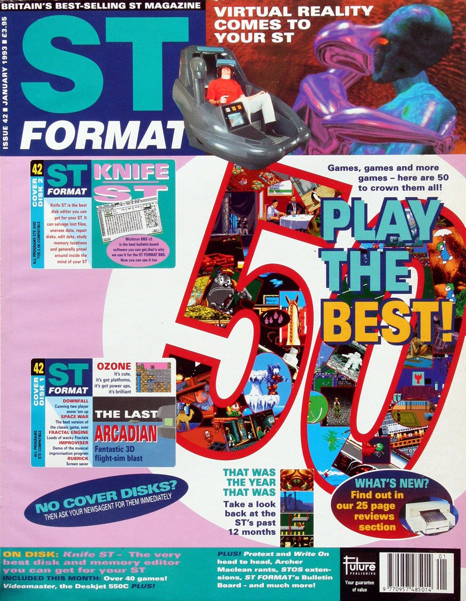 ST Format Issue 042 January 1993