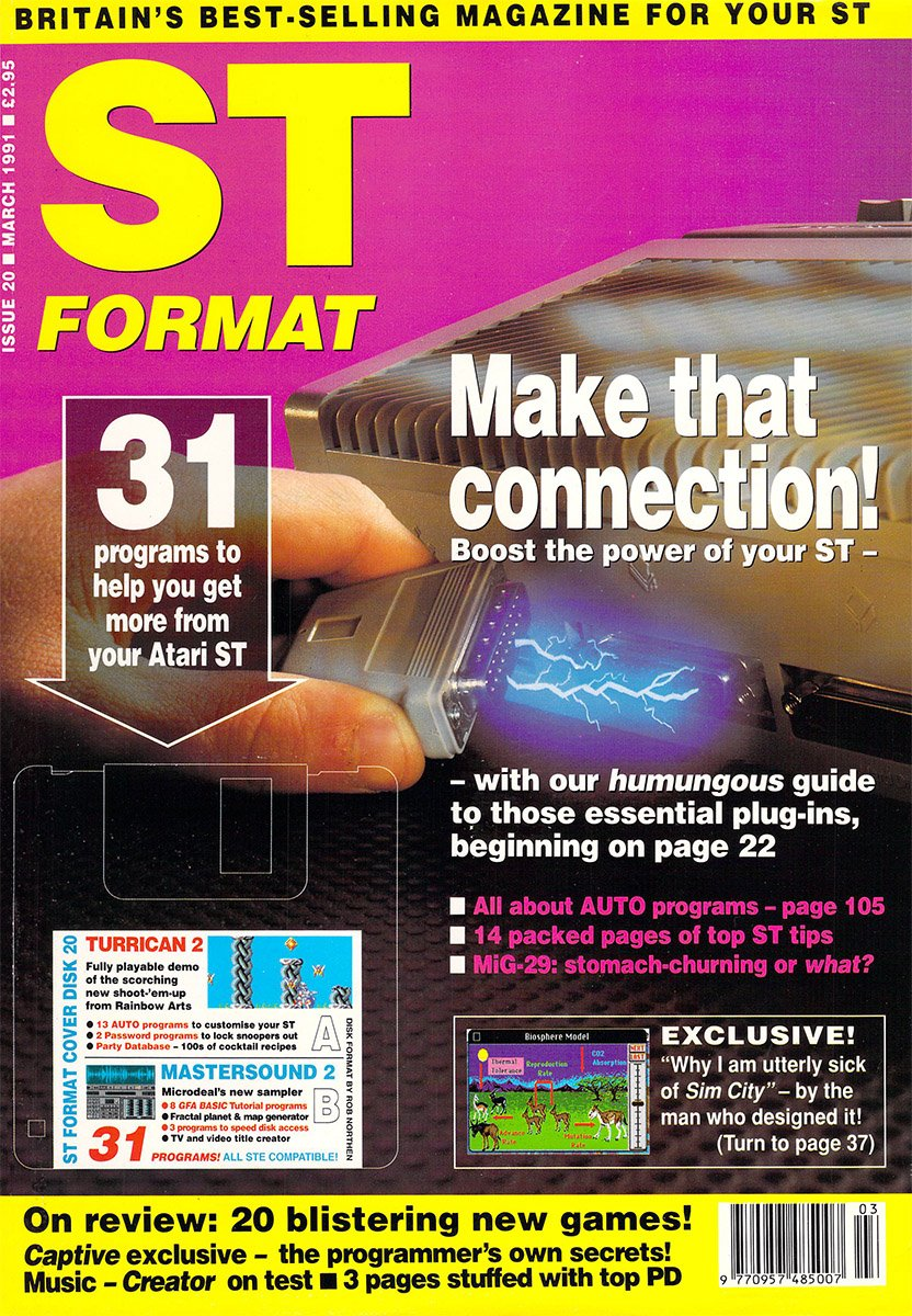 ST Format Issue 020 Mar 1991