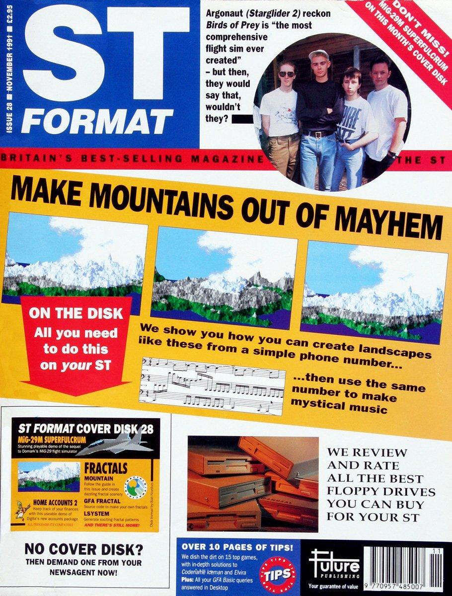 ST Format Issue 028 Nov 1991