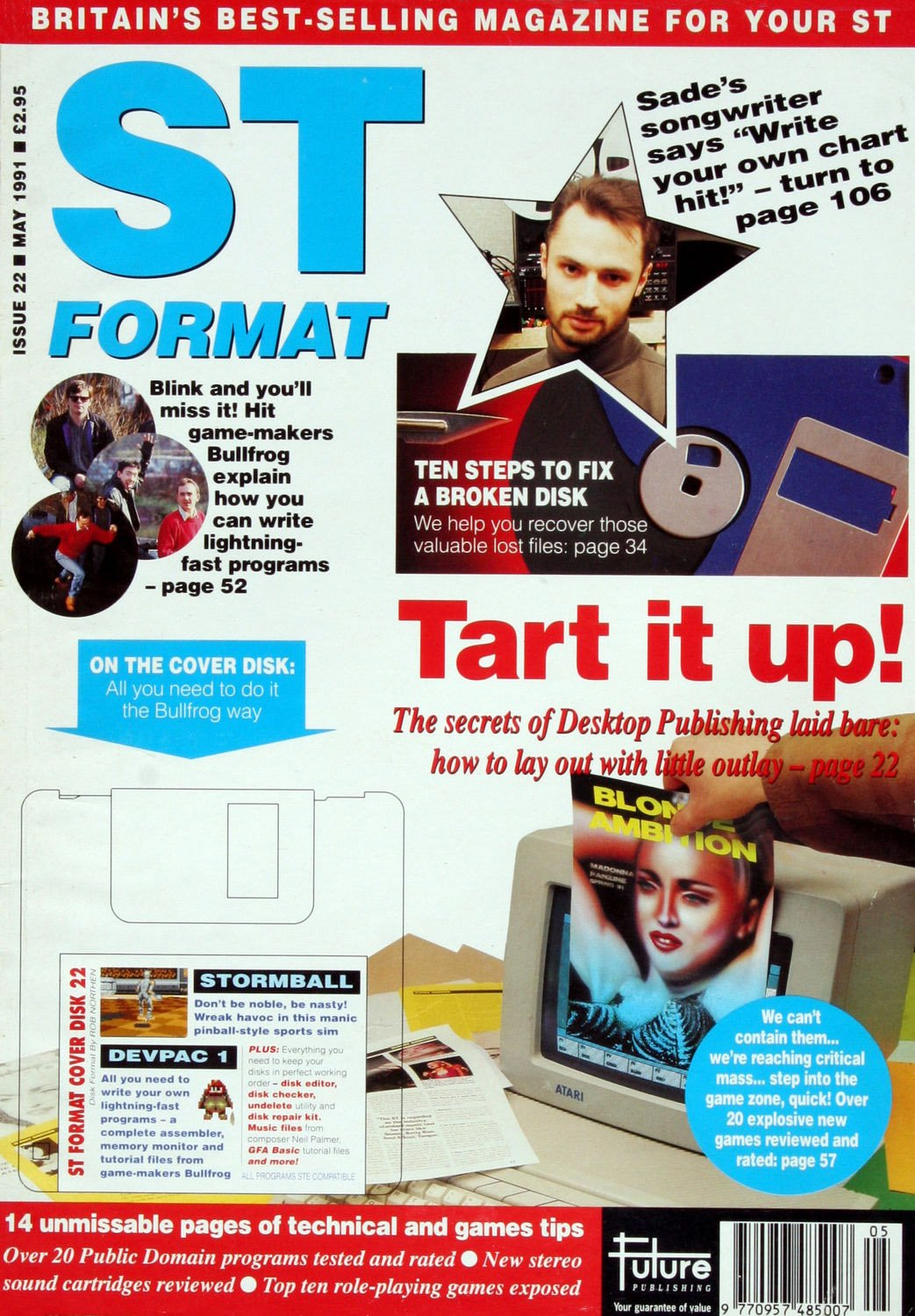 ST Format Issue 022 May 1991