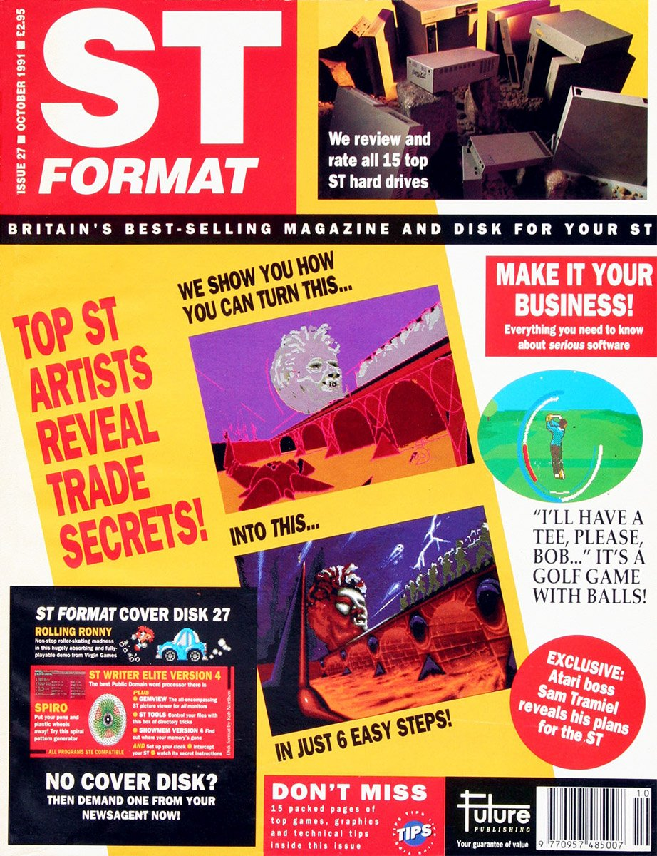 ST Format Issue 027 Oct 1991