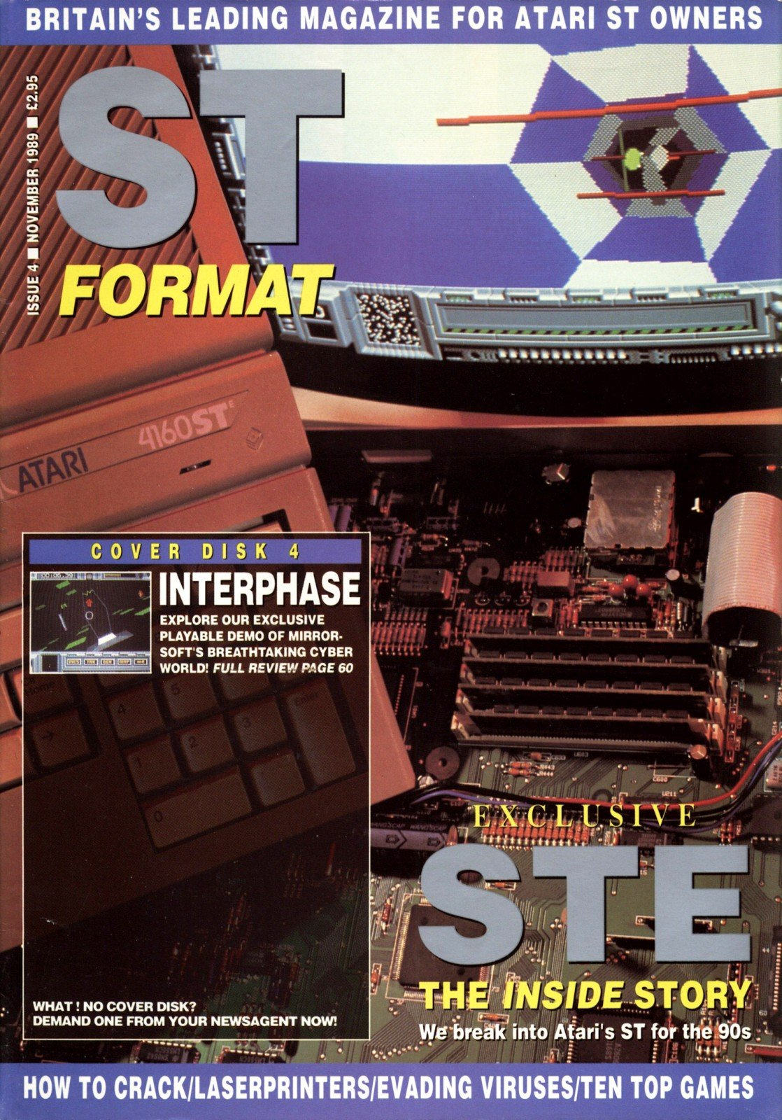 ST Format Issue 004 Nov 1989