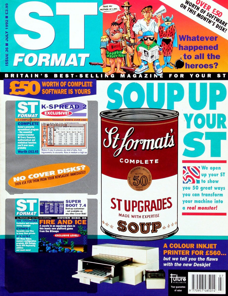 ST Format Issue 036 July 1992
