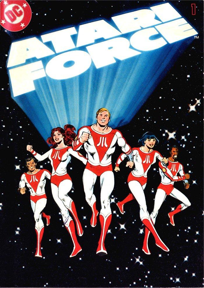 Atari Force mini comic 01 (1982)