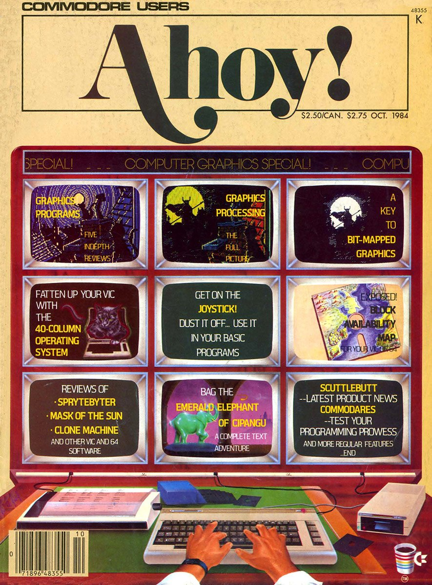 Ahoy! Issue 010 October 1984