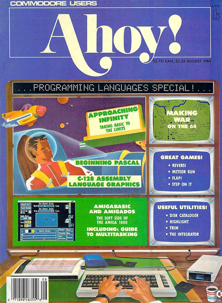 Ahoy! Issue 032 August 1986