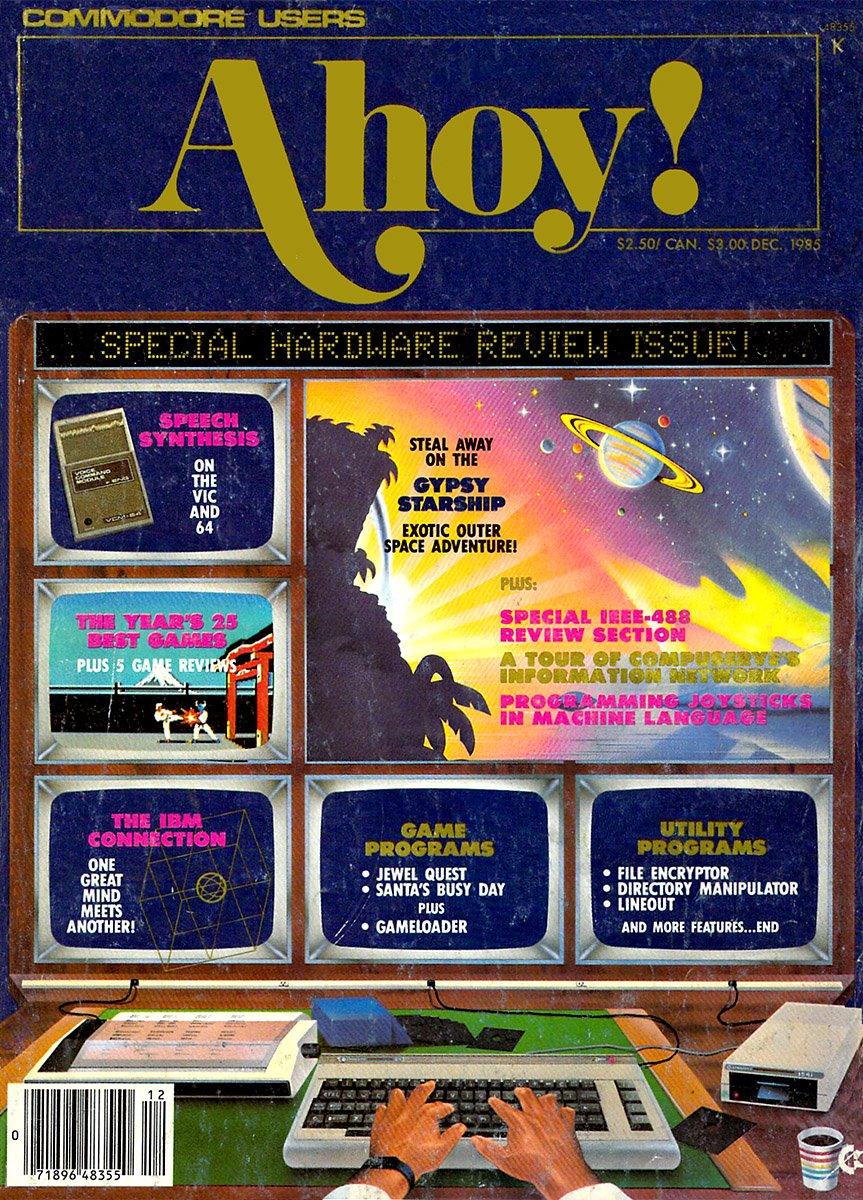 Ahoy! Issue 024 December 1985