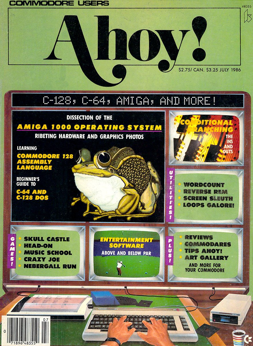Ahoy! Issue 031 July 1986