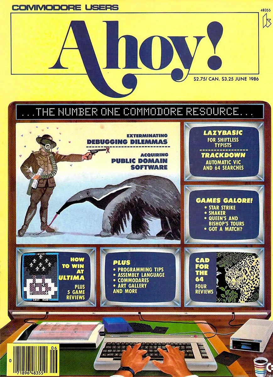 Ahoy! Issue 030 June 1986