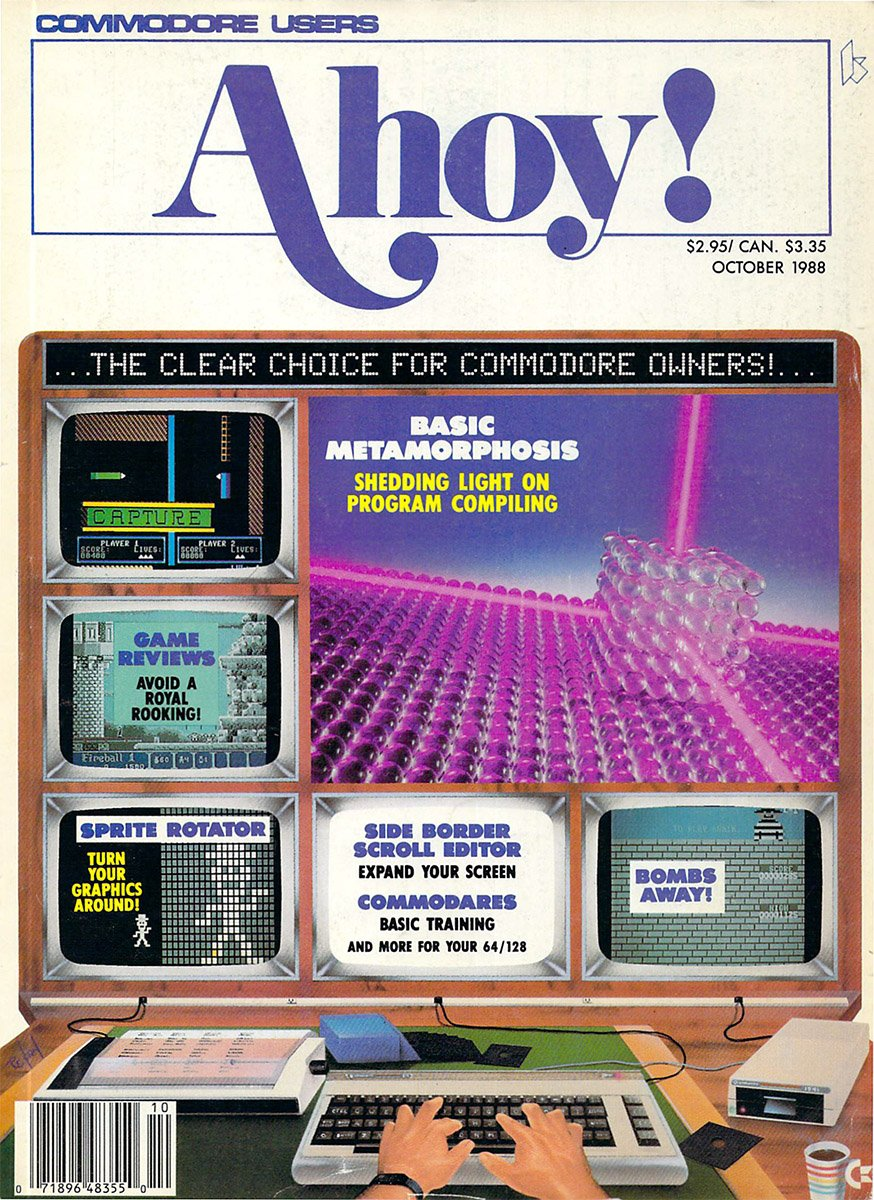 Ahoy! Issue 058 October 1988