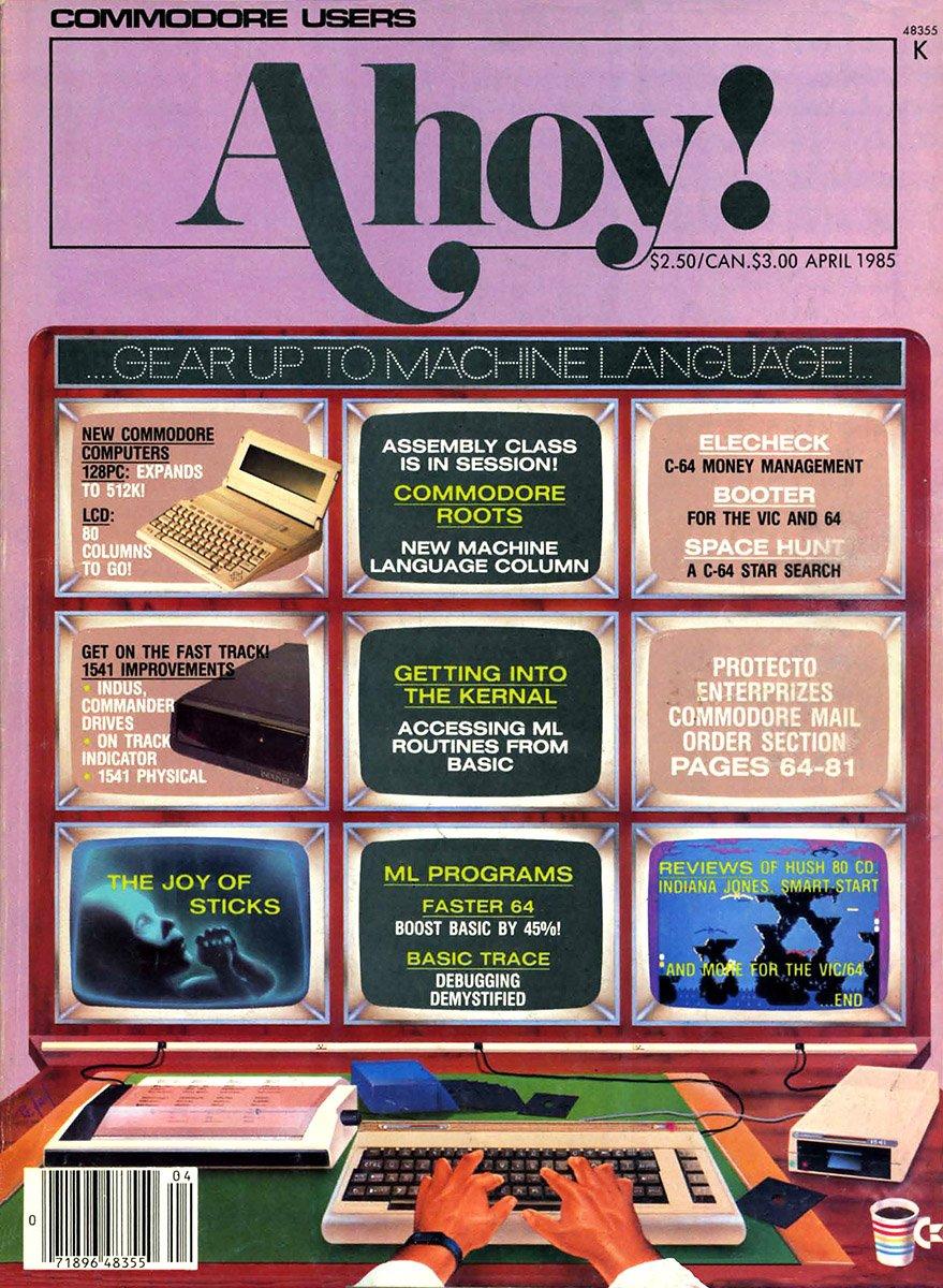 Ahoy! Issue 016 April 1985
