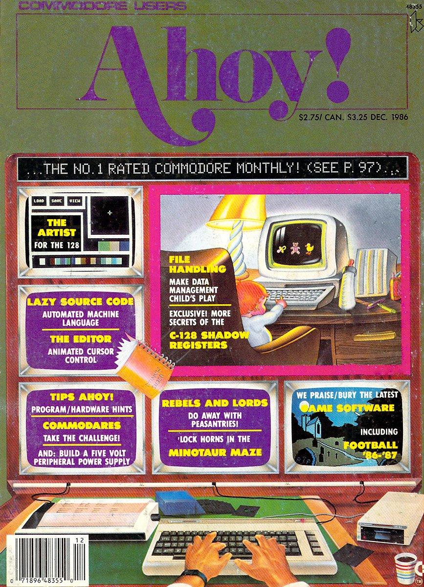 Ahoy! Issue 036 December 1986