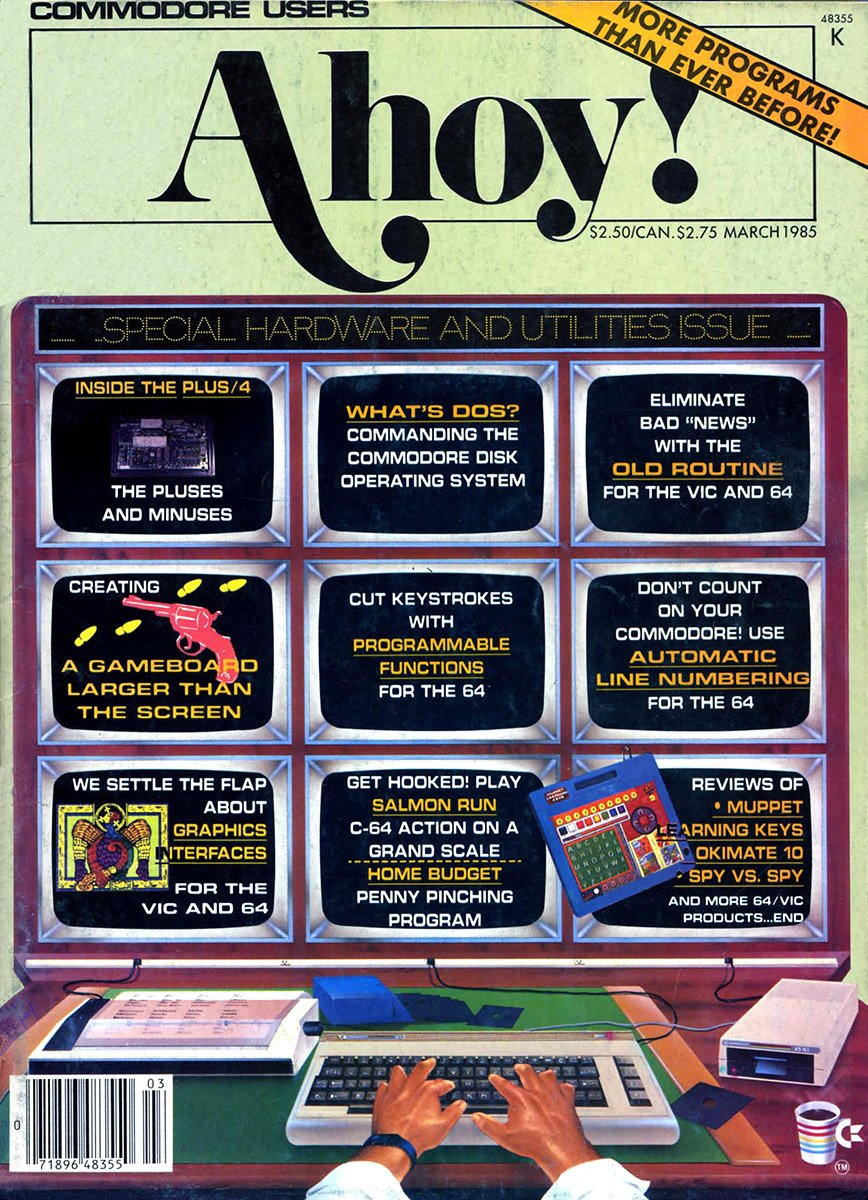 Ahoy! Issue 015 March 1985