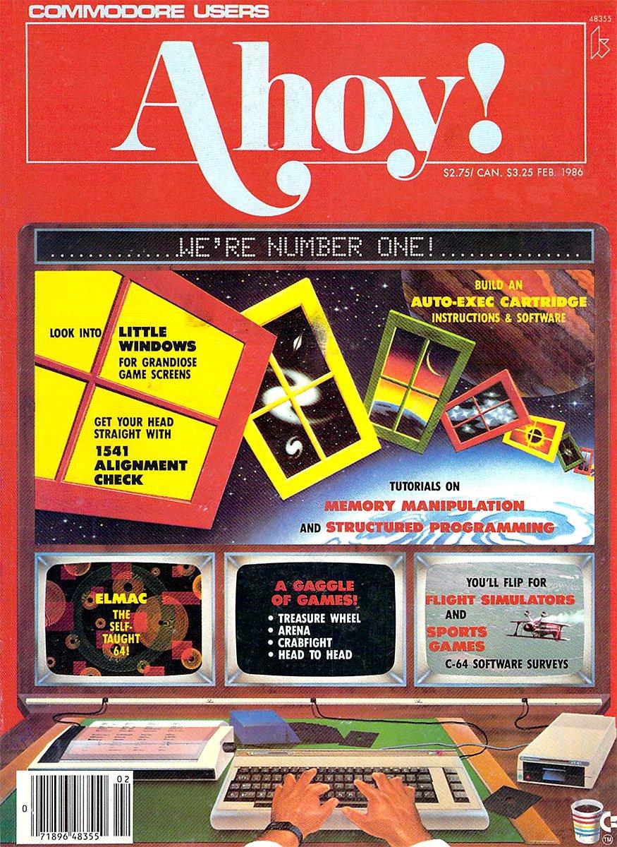 Ahoy! Issue 026 February 1986