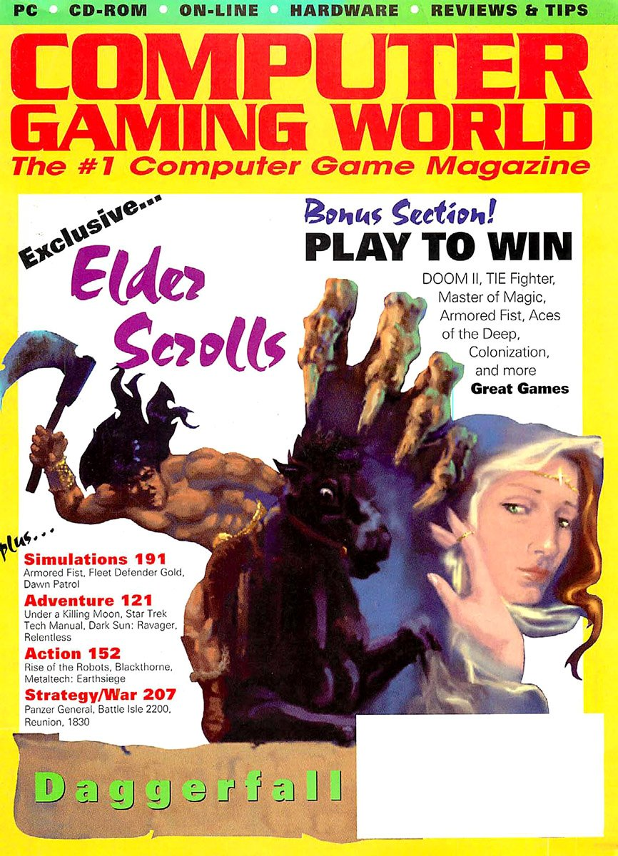 Computer Gaming World Issue 126 January 1995