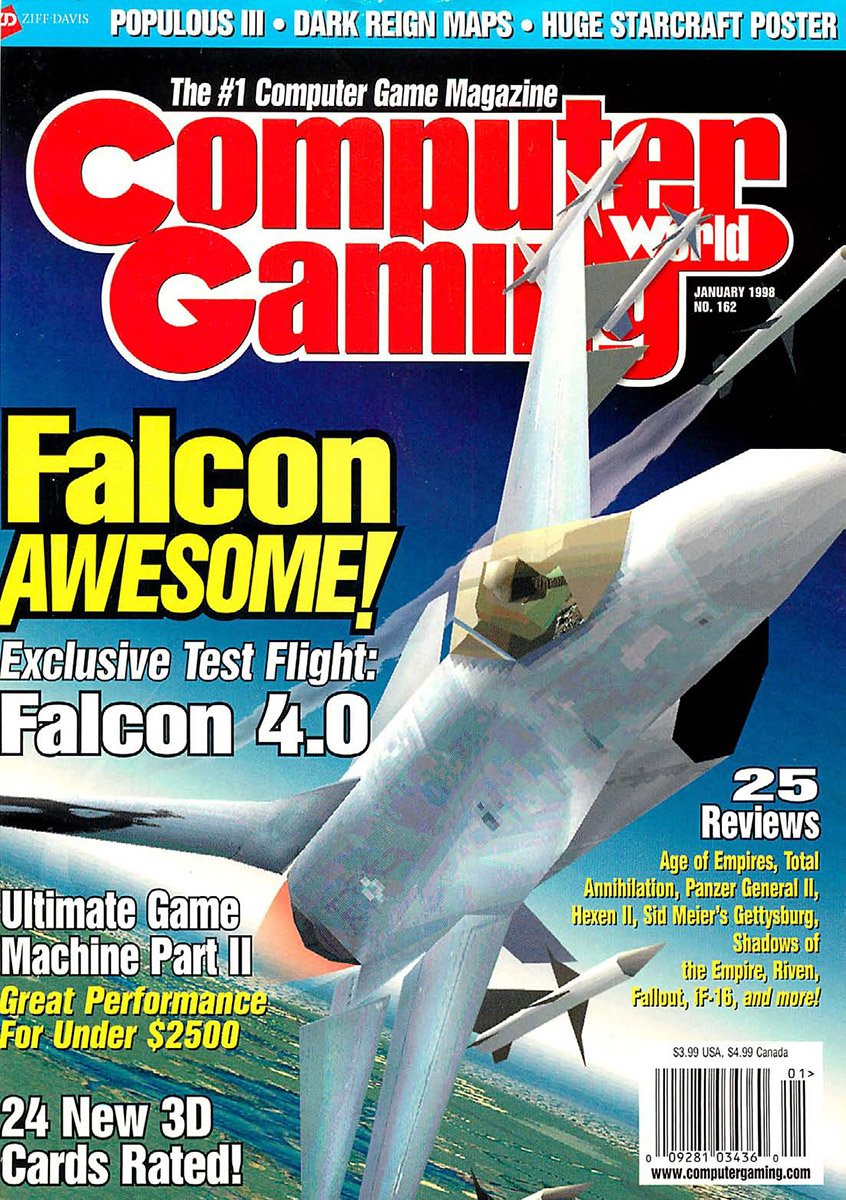 Computer Gaming World Issue 162 January 1998