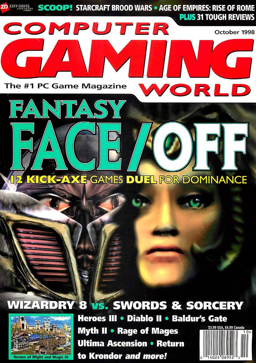 Computer Gaming World Issue 171 October 1998