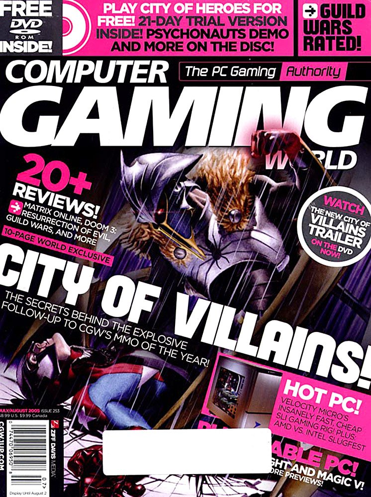Computer Gaming World Issue 253 July August 2005