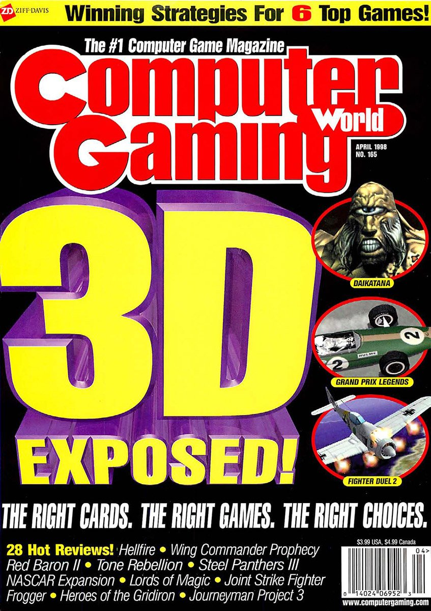 Computer Gaming World Issue 165 April 1998