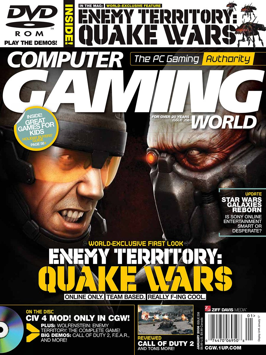 Computer Gaming World Issue 258 January 2006