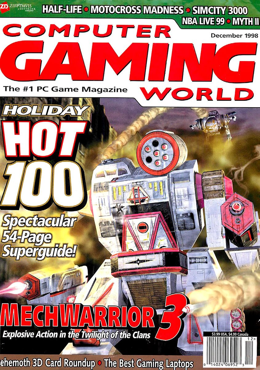 Computer Gaming World Issue 173 December 1998