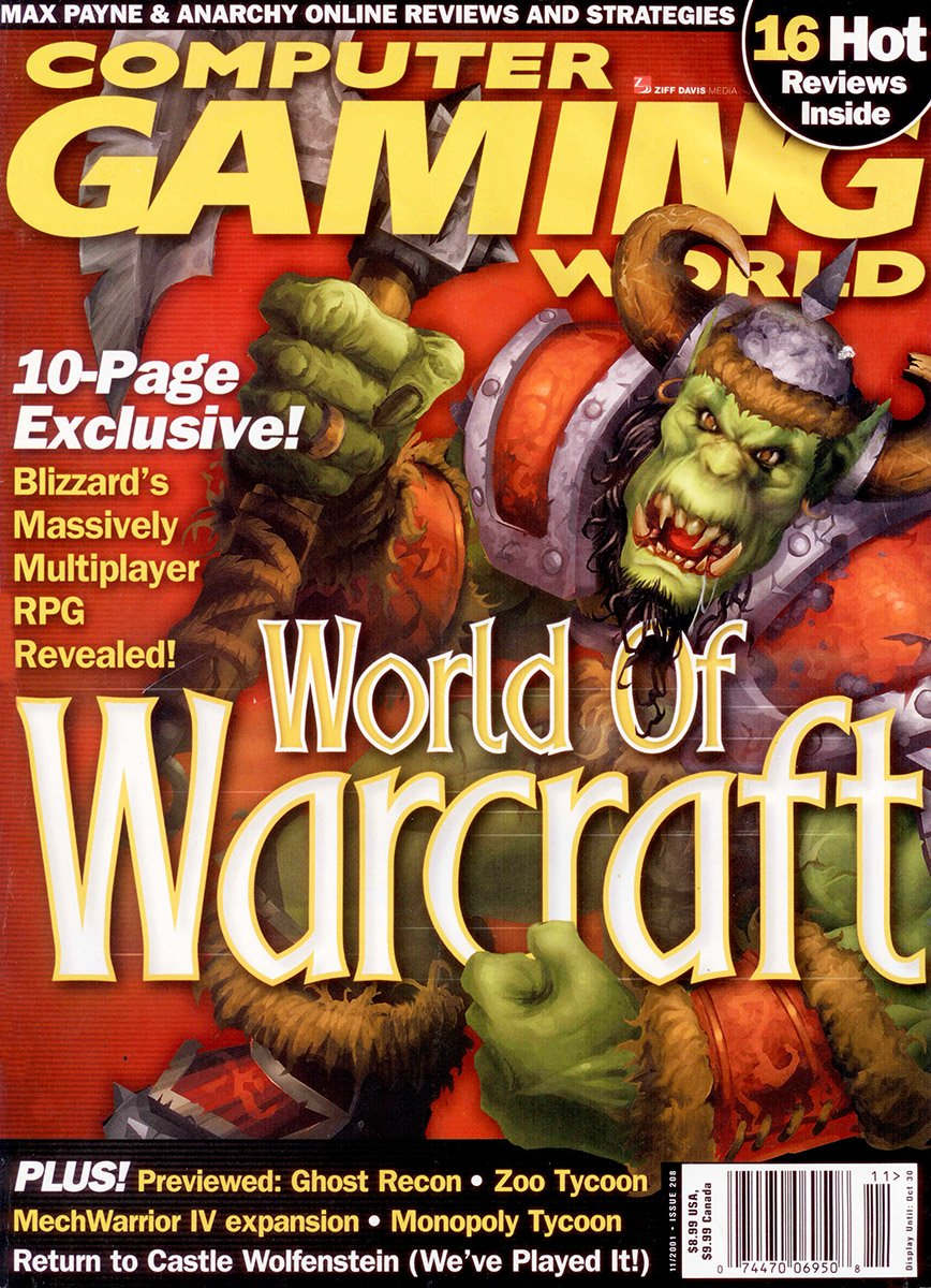 Computer Gaming World Issue 208 November 2001