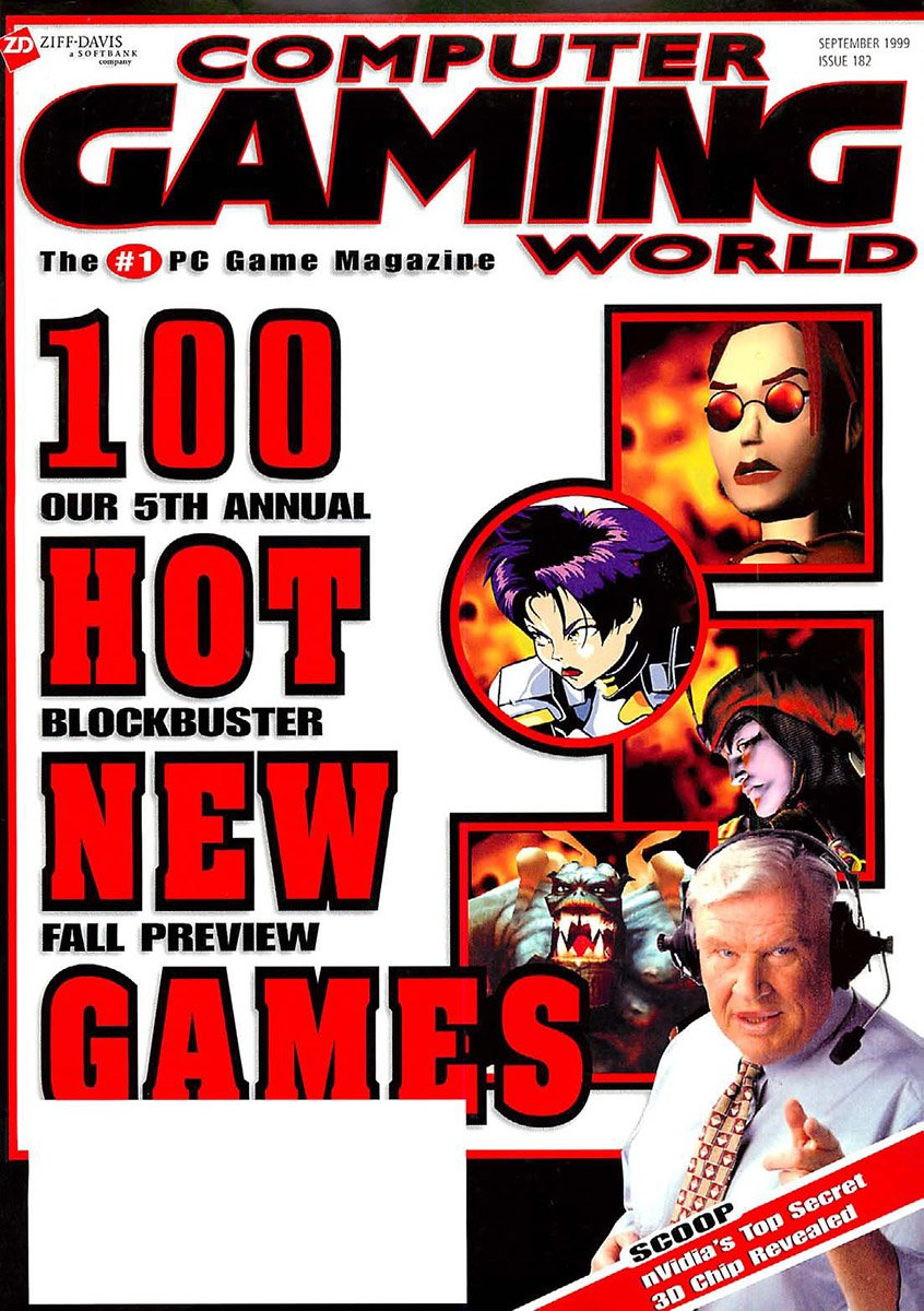 Computer Gaming World Issue 182 September 1999