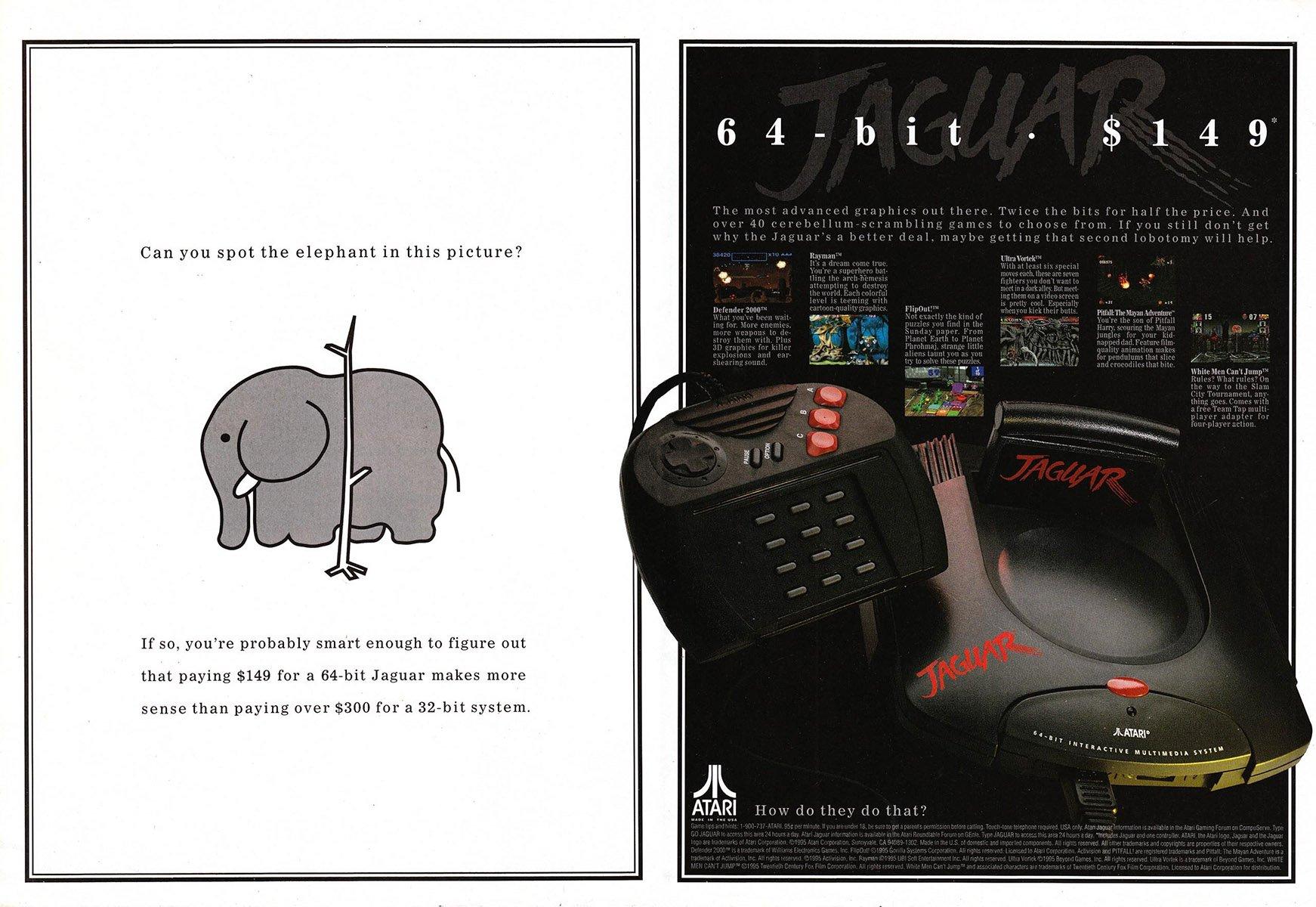 Atari Jaguar $149 price drop October 1995 (2)