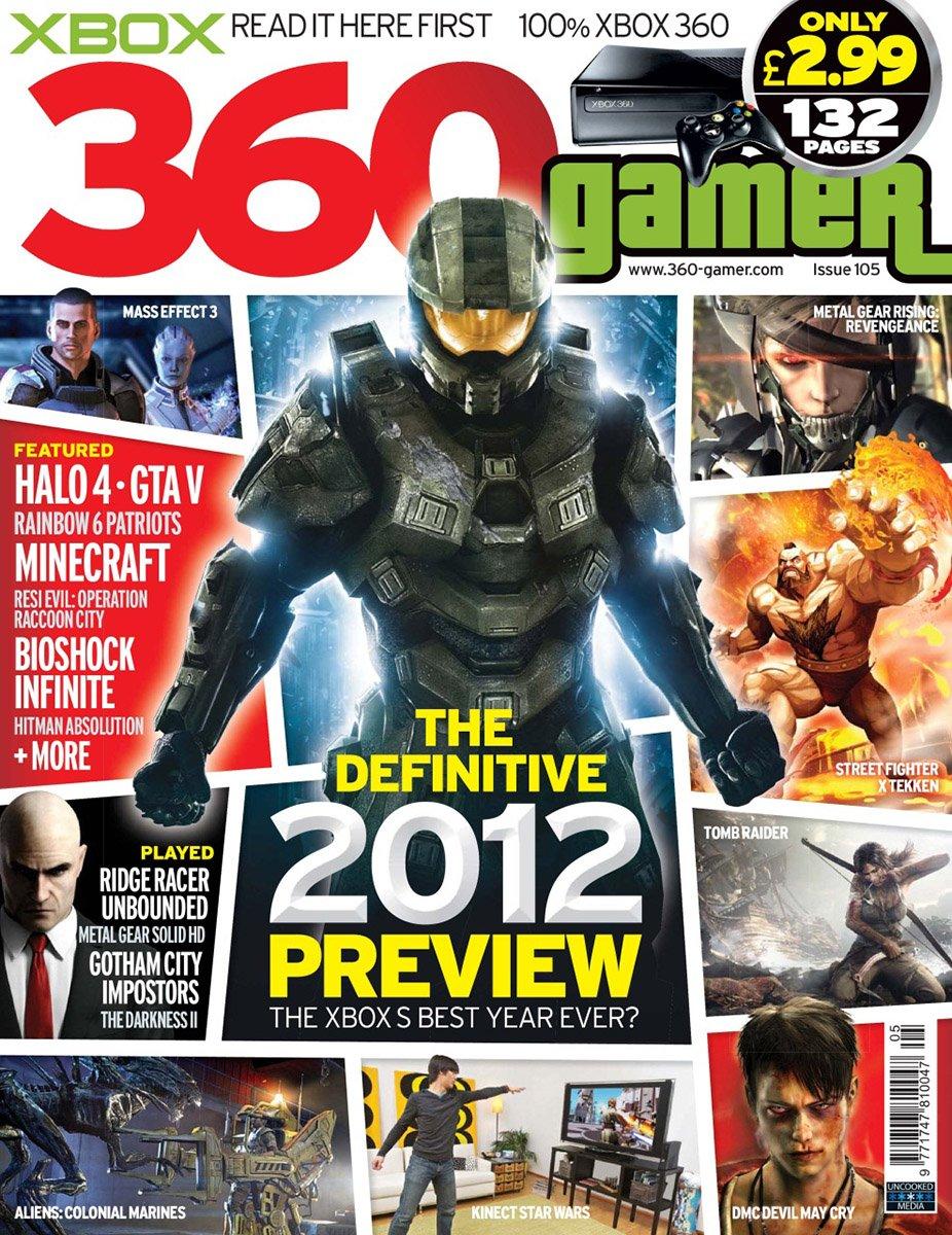 360 Gamer Issue 105