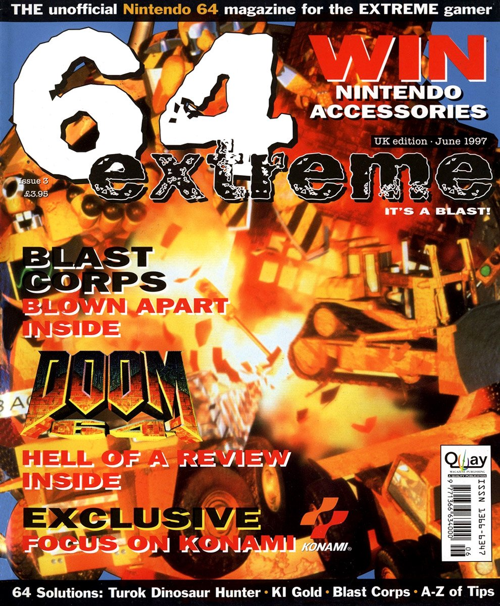 64 Extreme Issue 003 (June 1997)