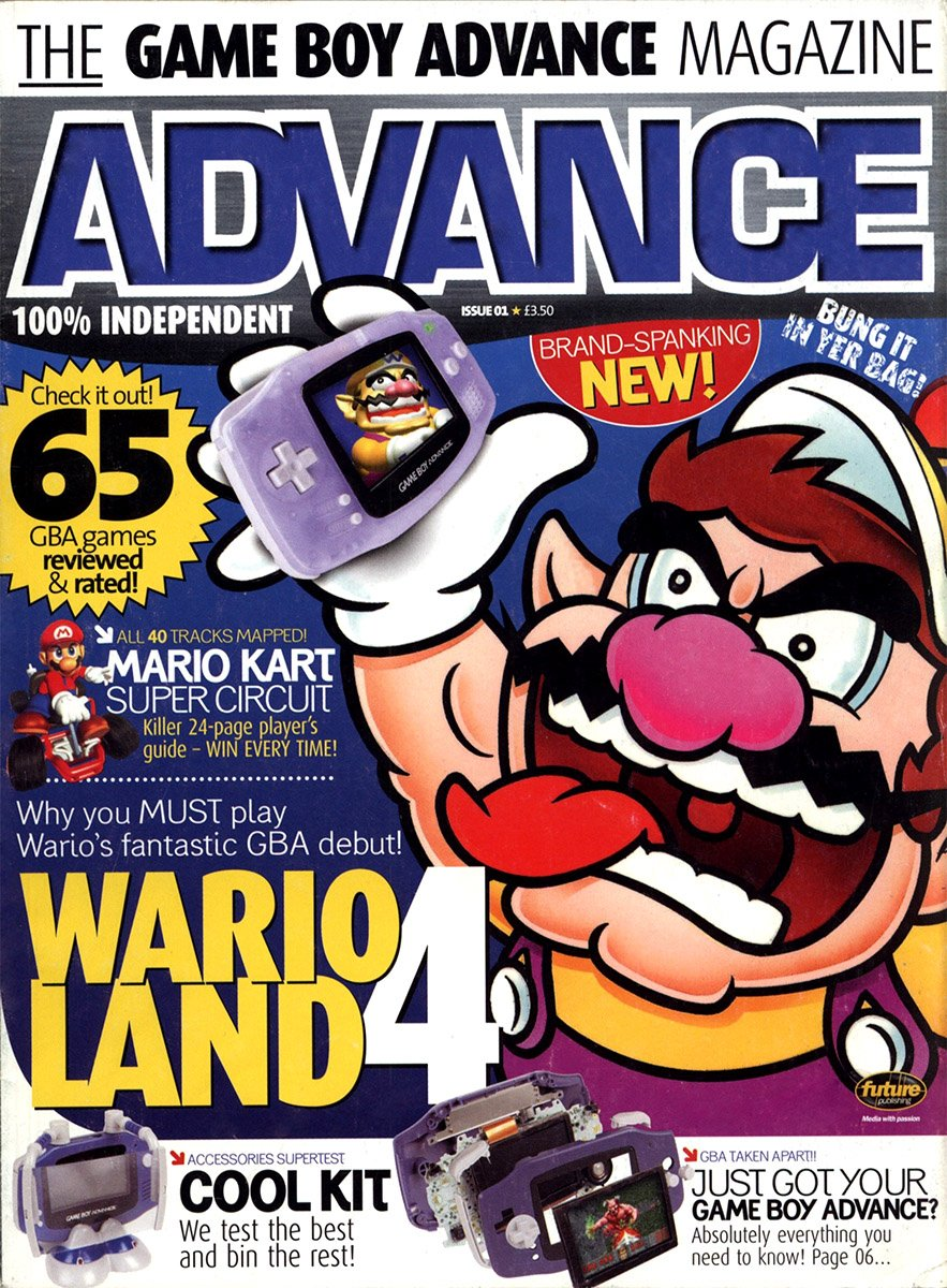 Advance Issue 01 Xmas 2001