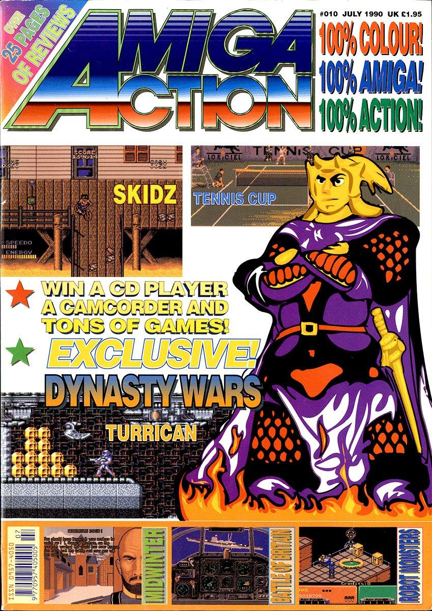Amiga Action 010 (July 1990)