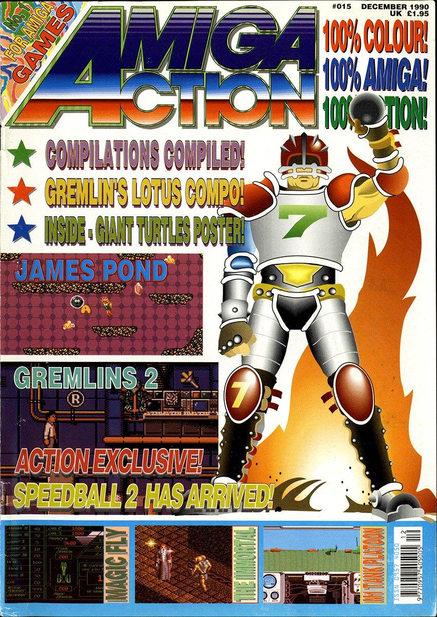 Amiga Action 015 (December 1990)