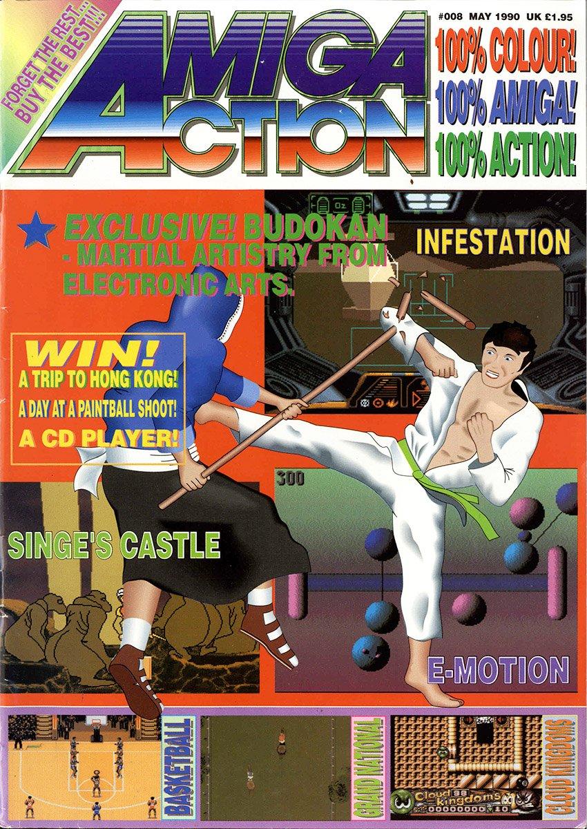 Amiga Action 008 (May 1990)